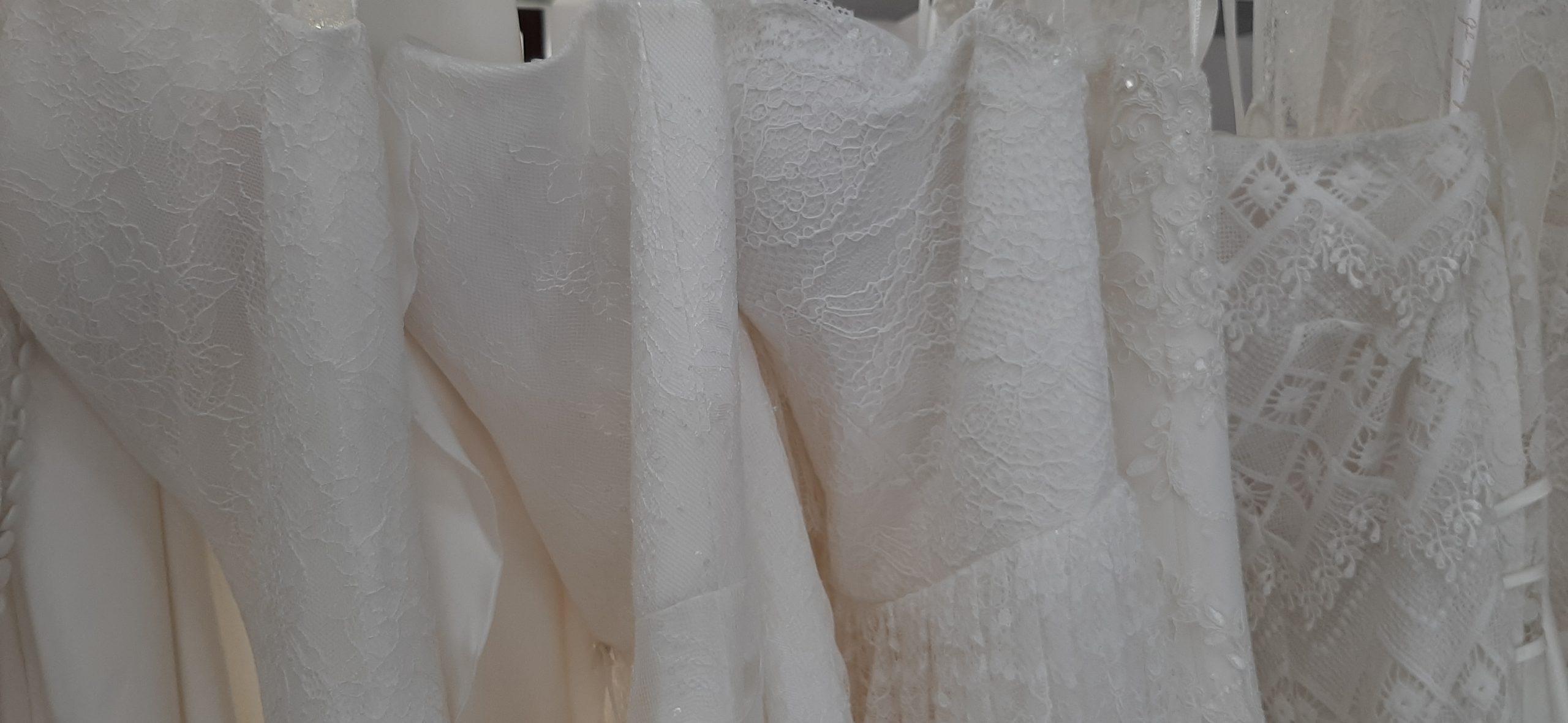 Spitze im Brautkleid welcher Typ bist du?
